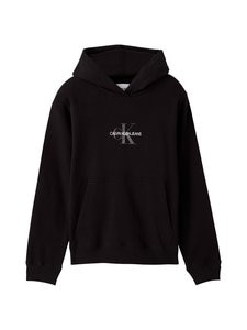 Calvin Klein Jeans Plus - Plus Glitter Monogram Hoodie -huppari - BEH CK BLACK   Stockmann