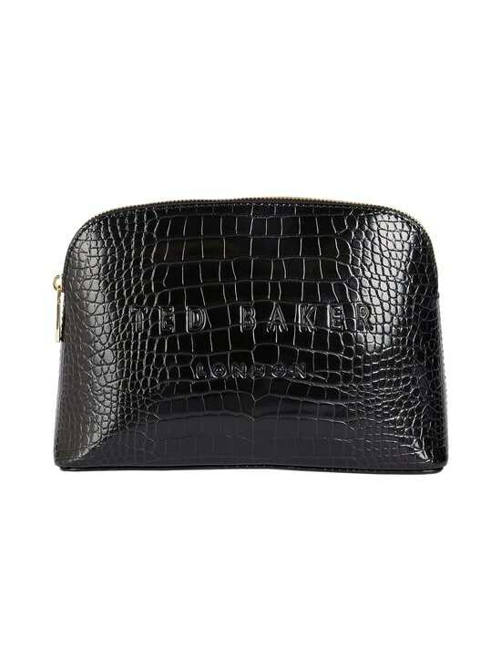 Ted Baker London - Crocala Croc Detail -meikkilaukku - BLACK   Stockmann - photo 1