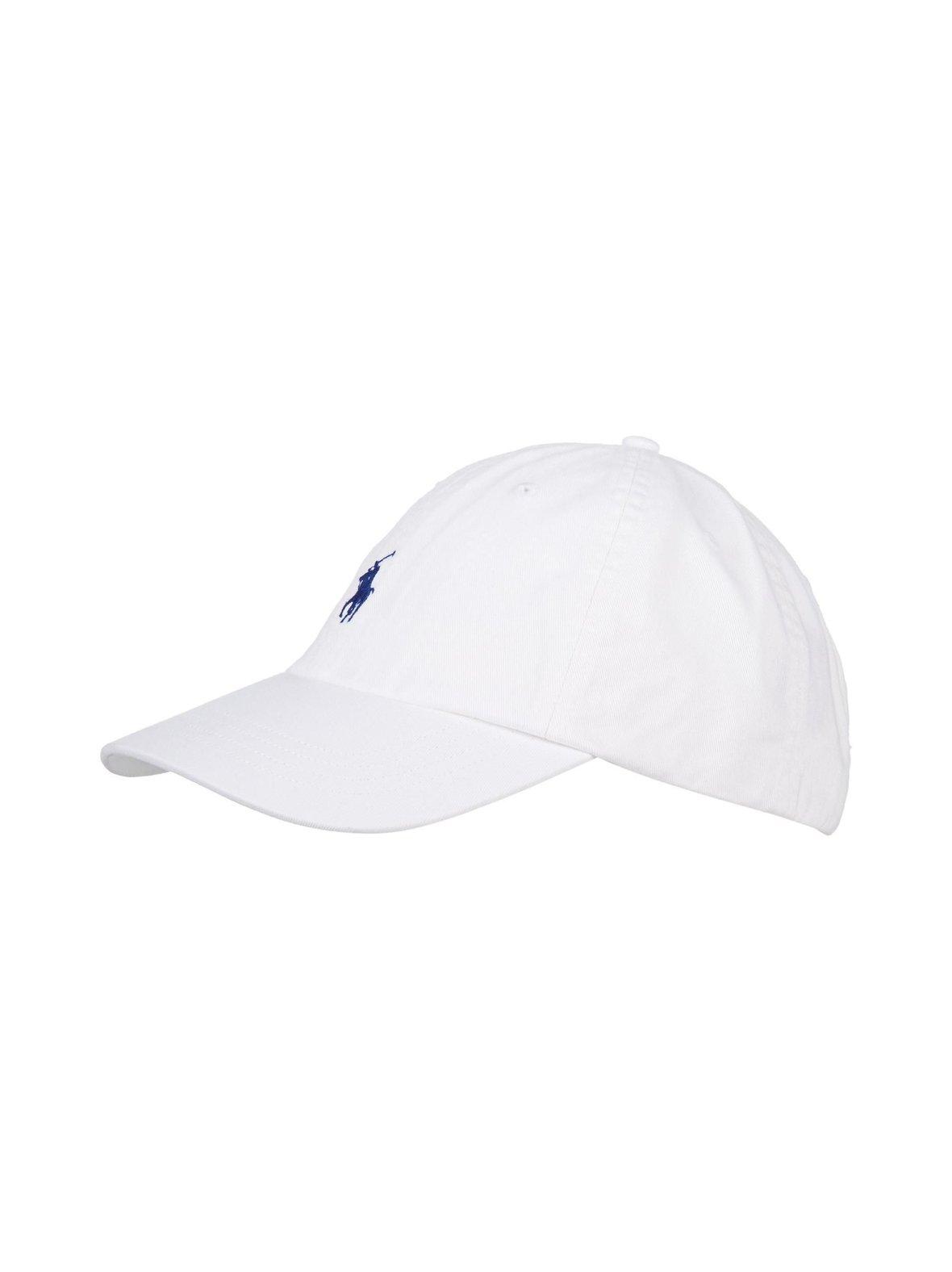 Valkoinen Polo Ralph Lauren Classic Sport -lippalakki puuvillaa ... b21f1fe60e
