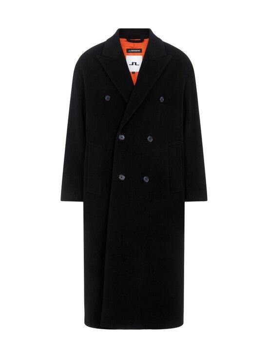 J.Lindeberg - Willy Wool Coat -villakangastakki - 9999 BLACK   Stockmann - photo 1