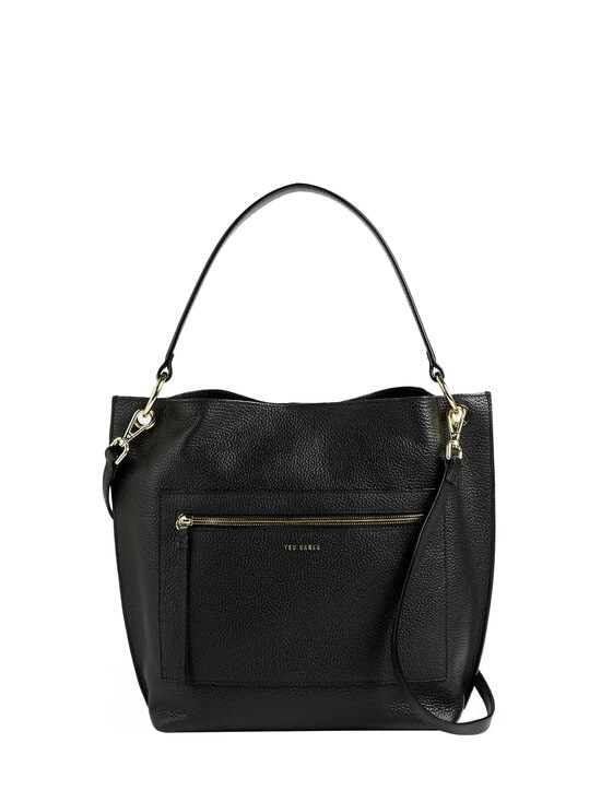 Ted Baker London - CAFRIN Zip Detail Hobo Bag -laukku - BLACK   Stockmann - photo 1