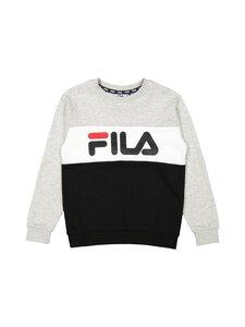 Fila - CARLOTTA -collegepaita - I85 BLACK-LIGHT GREY MELANGE BROS-BRIGHT WHITE   Stockmann