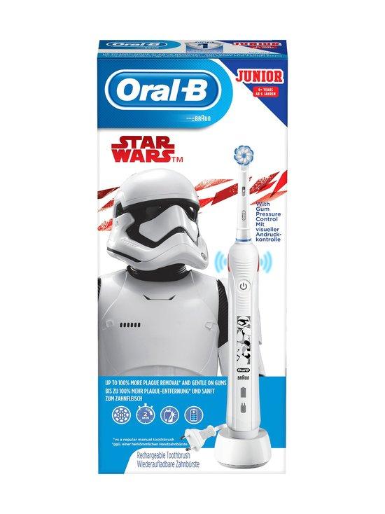 Oral-B - Junior Star Wars -sähköhammasharja - WHITE   Stockmann - photo 1