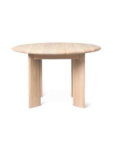 Ferm Living - Bevel Table -pöytä 73 x 117 cm - WHITE OILED OAK   Stockmann