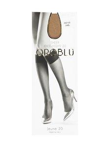 Oroblu - Jeune Sheer Knee-Highs 20 den -polvisukat - CAMEL   Stockmann