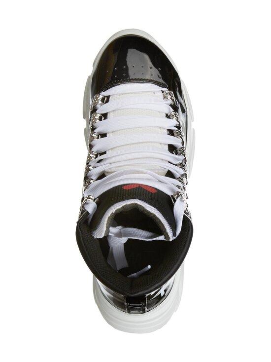 F_WD - High Top Chunky Sole -sneakerit - 999 BLACK / BLACK / WHITE   Stockmann - photo 2