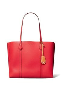 Tory Burch - Perry Triple Compartment Tote -nahkalaukku - BRILLIANT RED | Stockmann