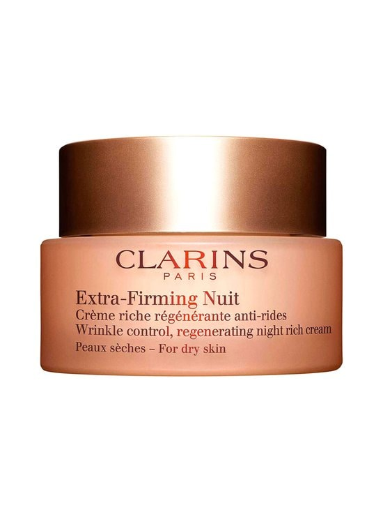 Clarins - Extra-Firming Nuit Wrinkle Control Regenerating Night Comfort Cream for Dry Skin -yövoide 50 ml - NOCOL | Stockmann - photo 1
