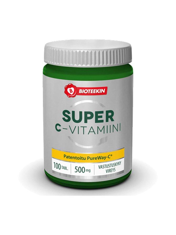 Super-C -vitamiinivalmiste 100 kaps./90 g