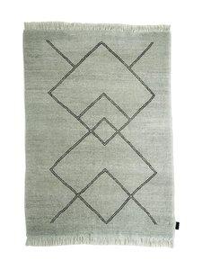 Sera Helsinki - Kide-villamatto 170 x 240 cm - BLACK/NATURAL WHITE (MUSTA/LUONNONVALKOINEN) | Stockmann