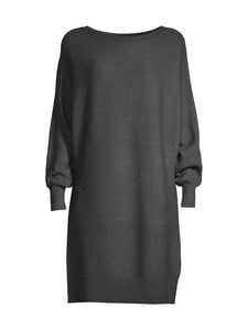 Noisy may - NmShip L/S Boatneck -neulemekko - DARK GREY MELANGE | Stockmann