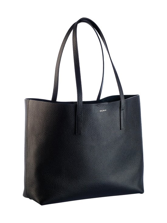 Balmuir - Estelle Shopper Bag -nahkalaukku - MUSTA/HOPEA   Stockmann - photo 1
