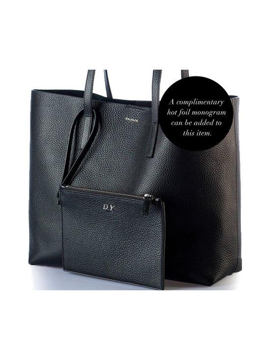 Balmuir - Estelle Shopper Bag -nahkalaukku - MUSTA/HOPEA   Stockmann - photo 2