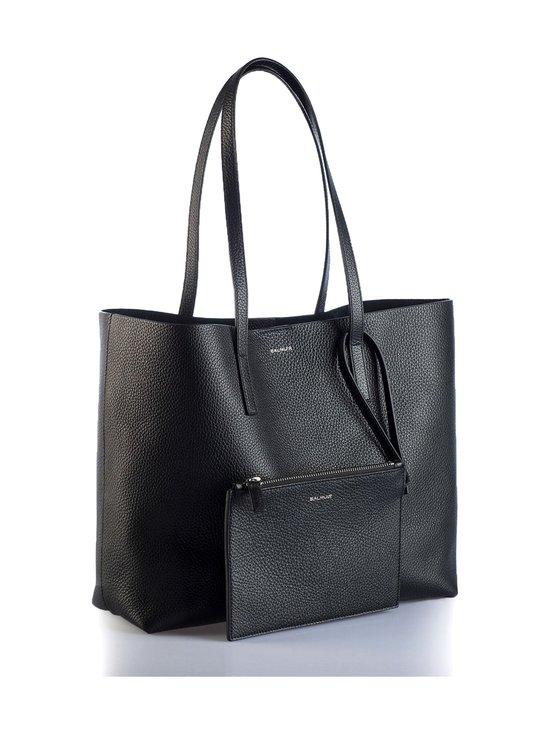 Balmuir - Estelle Shopper Bag -nahkalaukku - MUSTA/HOPEA   Stockmann - photo 3