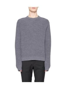 Tiger Of Sweden - Puffin Relaxed Fit -merinovillaneule - M03 MED GREY MEL | Stockmann