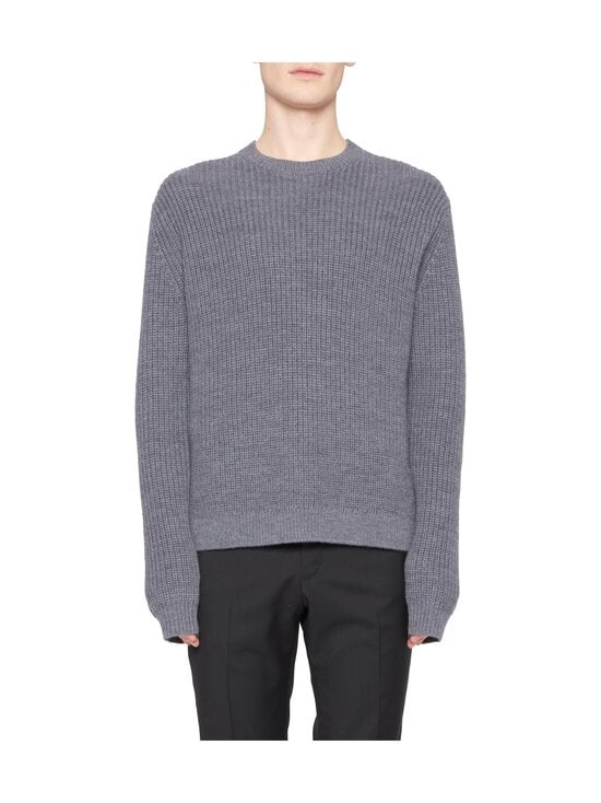 Tiger Of Sweden - Puffin Relaxed Fit -merinovillaneule - M03 MED GREY MEL | Stockmann - photo 1