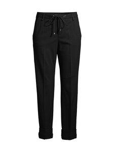 Mac Jeans - Dori Light Jersey Trousers -housut - 090 BLACK | Stockmann