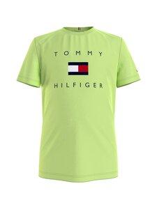 Tommy Hilfiger - Logo Tee -paita - LT4 SOUR LIME | Stockmann