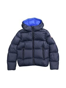COLMAR - 5ST Short puffer down coat with hood COLMAR 99 BLACK-SPIKE 12 - 68 NAVY BLUE-BLUE CURACAO | Stockmann