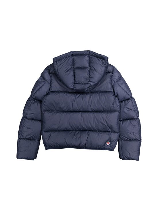 COLMAR - 5ST Short puffer down coat with hood COLMAR 99 BLACK-SPIKE 12 - 68 NAVY BLUE-BLUE CURACAO | Stockmann - photo 2