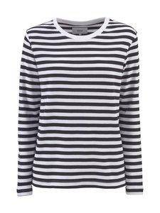 Makia - Verkstad Long Sleeve -paita - 999 BLACK-WHITE   Stockmann