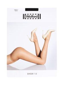 Wolford - Sheer 15 den -sukkahousut - BLACK   Stockmann