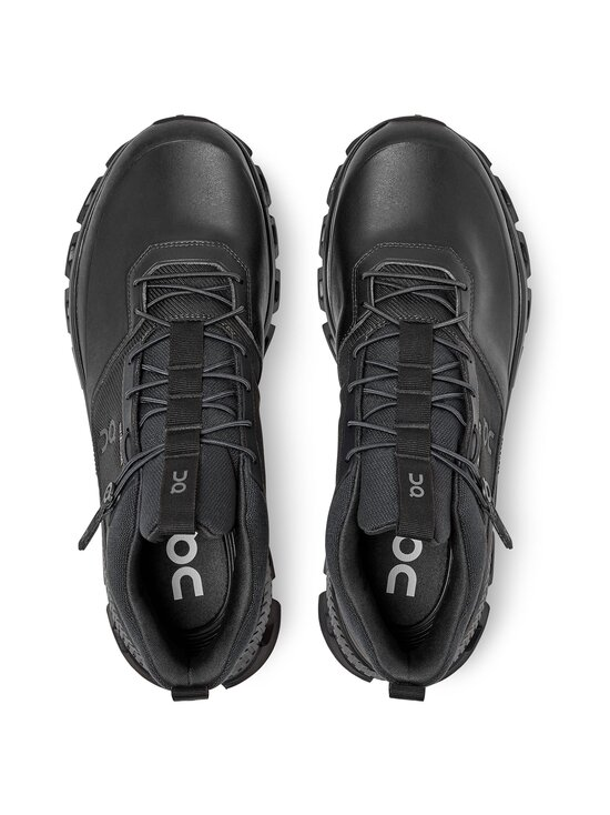 ON - M Cloud Hi Waterproof -sneakerit - ALL BLACK   Stockmann - photo 3