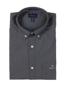 GANT - Micro Dot Weave Print Regular -kauluspaita - 423 PERSIAN BLUE | Stockmann