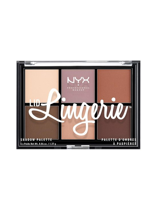 NYX Professional Makeup - Lid Lingerie Eye Shadow Palette -luomiväripaletti - LID LINGERIE | Stockmann - photo 1