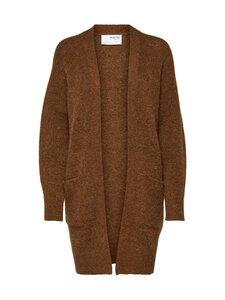 Selected - SLFLulu Knit Long Cardigan -neuletakki - RUBBER DETAIL:MELANGE | Stockmann