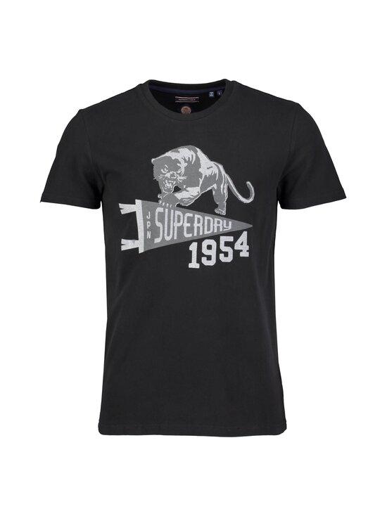 Superdry - Mascot Varsity Tee -paita - 02A BLACK | Stockmann - photo 1