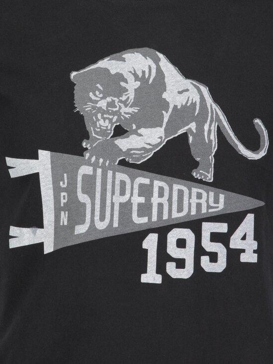 Superdry - Mascot Varsity Tee -paita - 02A BLACK | Stockmann - photo 2