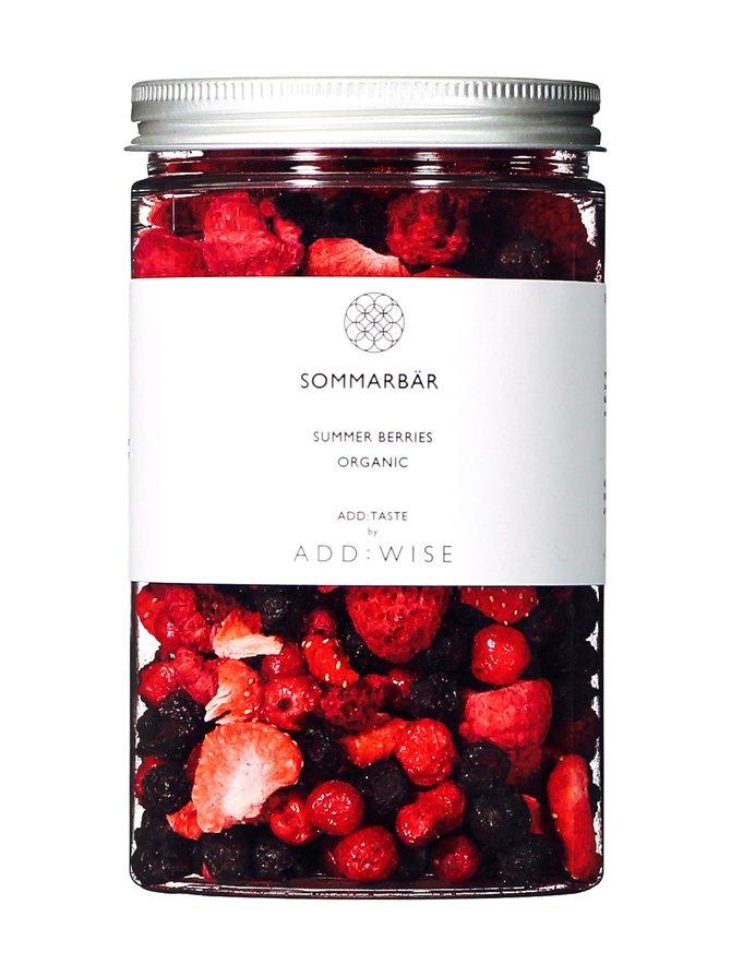 Sommarbär- kylmäkuivattu marjaseos 35 g