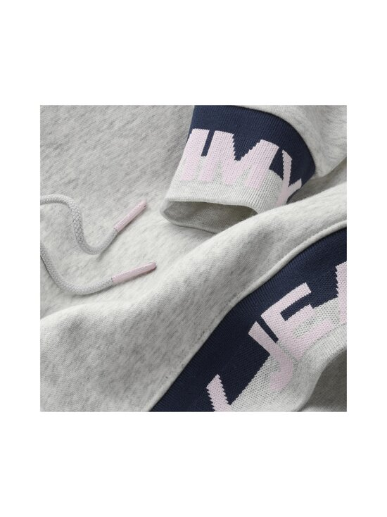 Tommy Jeans - TJW Branded Hem Sweat Dress -collegemekko - PJ4 SILVER GREY HTR | Stockmann - photo 3