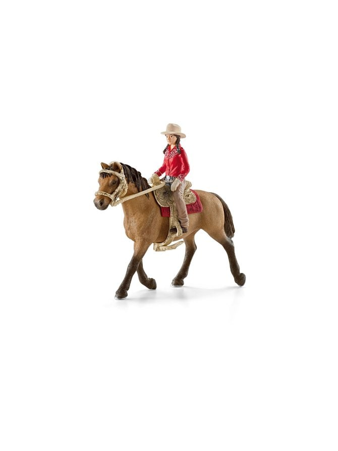 Villin lännen ratsastajatar