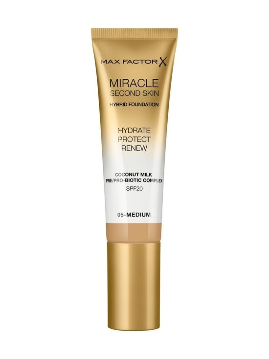 Max Factor - Miracle Second Skin Foundation -meikkivoide 30 ml - 05 MEDIUM | Stockmann - photo 1
