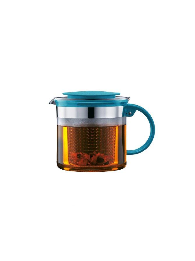 Bistro Nouveau -teekannu muovisihdillä