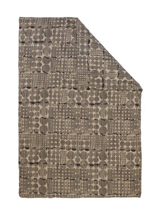Casa Stockmann - Arte-pussilakana 150 x 210 cm SANDSTONE/BLACK - SANDSTONE /BLACK COMBO   Stockmann - photo 1