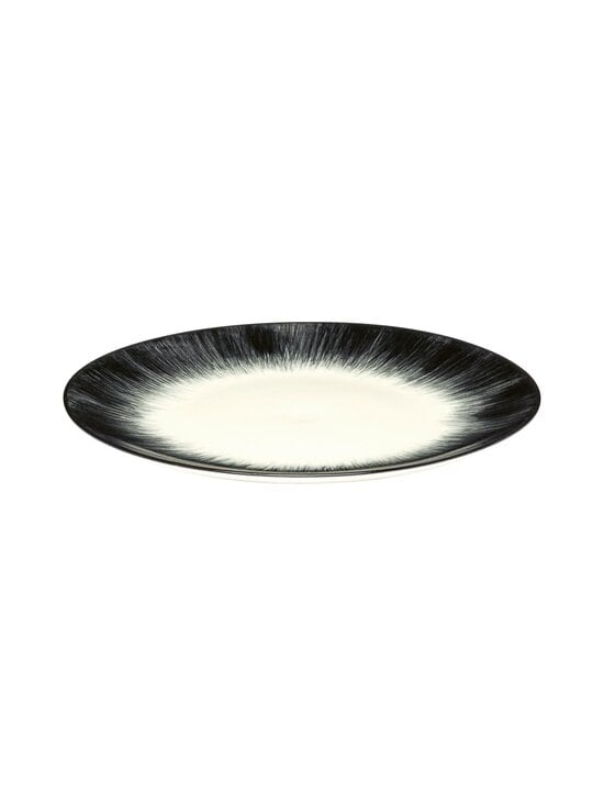 Serax - Dé Tableware by Ann Demeulemeester -lautanen 17,5 cm - OFF-WHITE/BLACK | Stockmann - photo 1