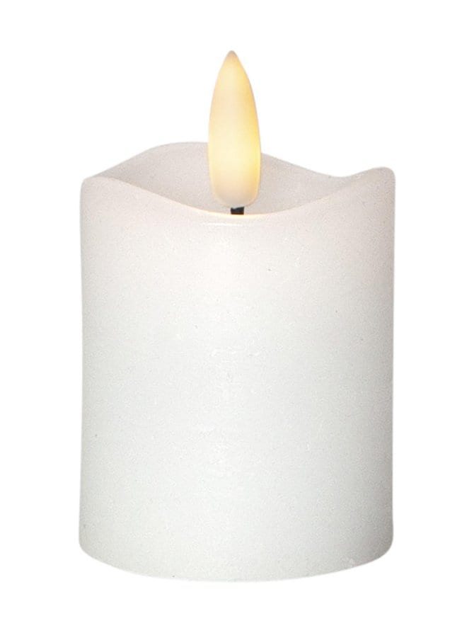 LED-kynttilä 7,5 x 5 x 5 cm, 2 kpl