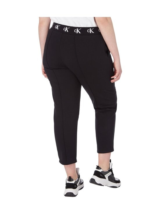 Calvin Klein Jeans Plus - Plus CK Logo Trim Jogger Pant -housut - BEH CK BLACK | Stockmann - photo 2