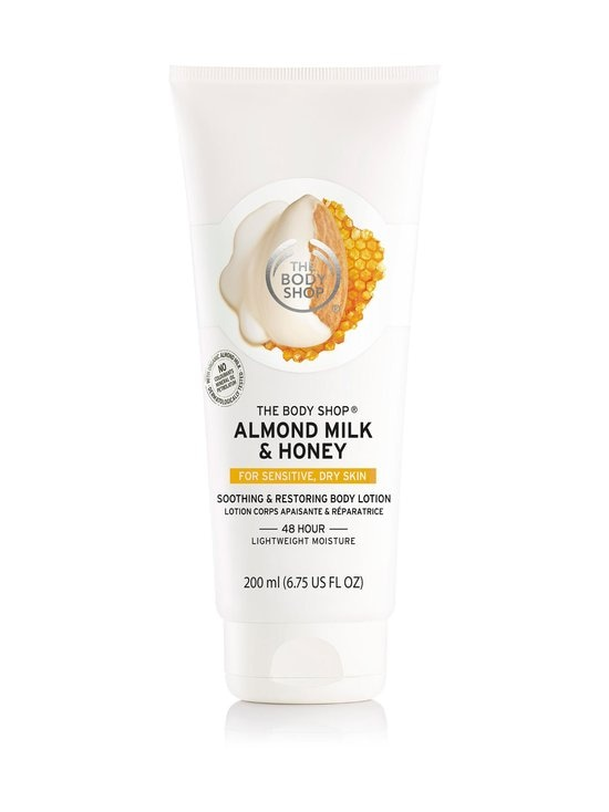 The Body Shop - Body Lotion Almond Milk & Honey -vartalovoide 200 ml - NOCOL   Stockmann - photo 1