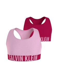 Calvin Klein Kids - Bralette-toppi 2-pack - 0VL ROMANTICPINK/FLUSHEDRED | Stockmann