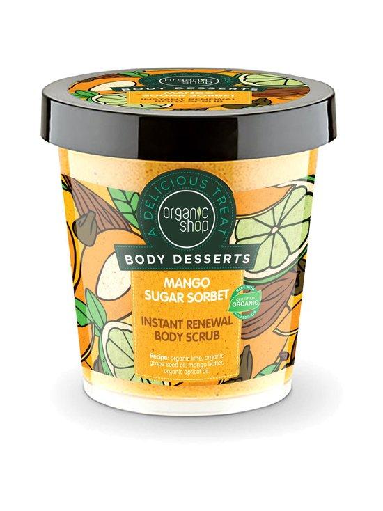 Organic Shop - Body Desserts Mango Sugar Sorbet -uudistava vartalokuorinta 450 ml   Stockmann - photo 1