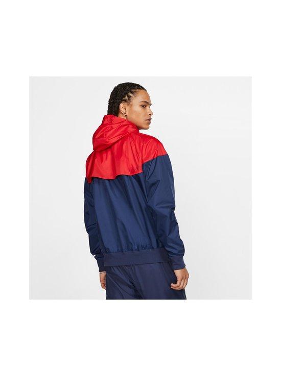 Nike - Sportswear Windrunner -takki - 410 MIDNIGHT NAVY/UNIVERSITY RED/WHITE | Stockmann - photo 4