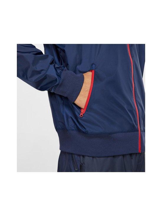 Nike - Sportswear Windrunner -takki - 410 MIDNIGHT NAVY/UNIVERSITY RED/WHITE | Stockmann - photo 8
