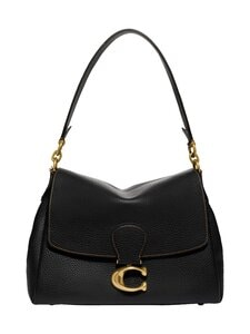 Coach - May Shoulder Bag -nahkalaukku - B4/BK B4/BLACK | Stockmann
