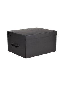 Bigso Box - Thea-säilytyslaatikko - GRAPHITE (TUMMANHARMAA) | Stockmann