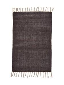Casa Stockmann - Coal-puuvillamatto 60 x 90 cm - BLACK | Stockmann