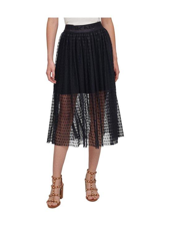 Dkny - Pull On Mesh Skirt -hame - NEW NAVY | Stockmann - photo 1